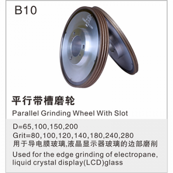 Parallel Grinding Wheel With Slot