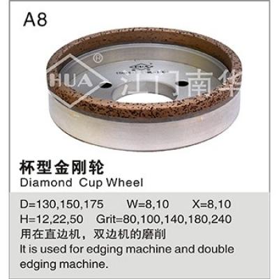 Cup diamond wheel