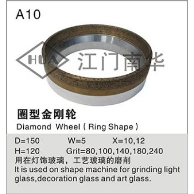 Circle diamond wheel