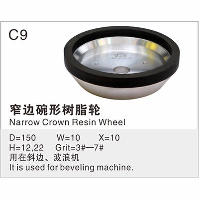 窄边碗形树脂轮