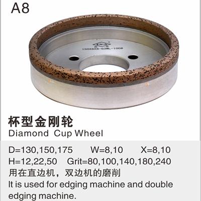Diamond Cup Wheel A8