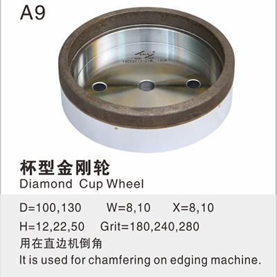 Diamond Cup Wheel A9