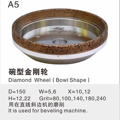 Diamond Wheel(Bowl Shape)