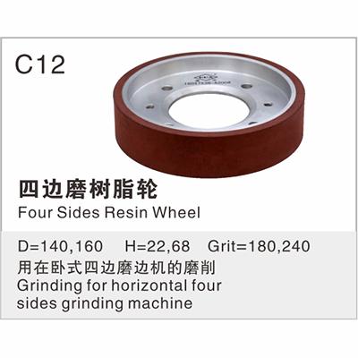 Four Sides Resin Wheel