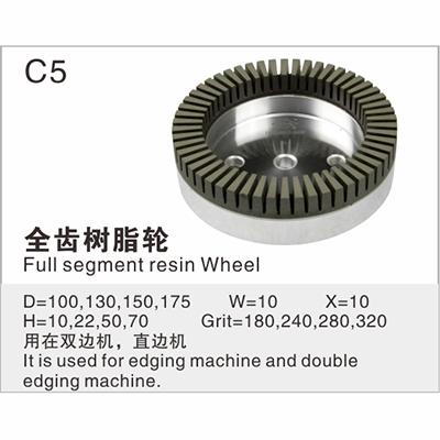 Full segment resin Wheel