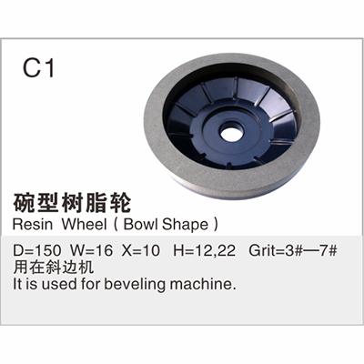 Resin Wheel (Bowl Shape) C1