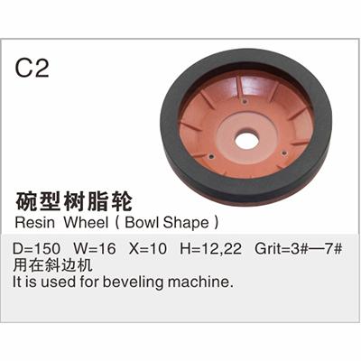 Resin Wheel (Bowl Shape) C2