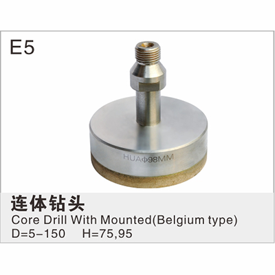 Core Drill With Mounted(Belgium type)