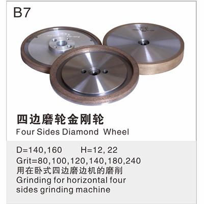 Four Sides Diamond Wheel